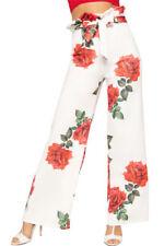Cotton Casual Floral Pants for Women