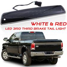 Smoke Lens LED 3rd Brake Cargo Stop Light White Red Fit Dodge Ram 1500 94-2001