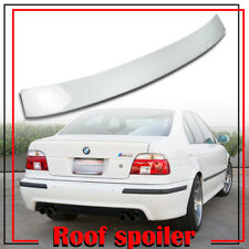 Stock in LA!BMW E39 5-ser A Type Rear Roof Spoiler Wing Painted Color #300 White