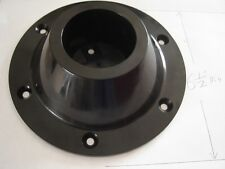 "RV surface mount pedestal TABLE LEG BASE black Plastic 6 1/2""dia for 2-1/4"" pole"