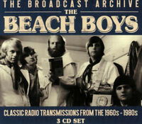 The Beach Boys : The Broadcast Archive CD Box Set 3 discs (2018) ***NEW***