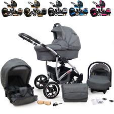 Kombi Kinderwagen  Sportwagen Buggy 3in1 Autositz System Kinderwagen Babyschale