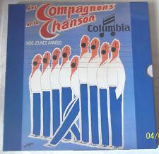 LES COMPAGNONS DE LA CHANSON Coffret  3  33 T NOS JEUNES ANNEES  COLUMBIA