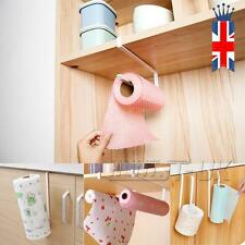 Kitchen Roll Holder Stainless Steel Sucker Tissue Paper Towel  Rack Over Door UK