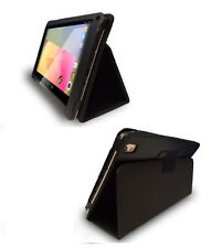 """10.1"""" Folio Case for Allwinner Android Tablet 258x149.5mm, Black PU Leather Like"""