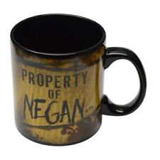 "THE WALKING DEAD ""PROPERTY OF NEGAN"" 20 oz Coffee or soup Mug licensed NEW"