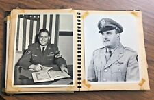 1950's 1st Army Recruiting Officer Scrapbook, W/80 Pages Original B&W Photos,