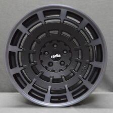 "19"" RADI8 R8SD11 ALLOY WHEELS FITS VW GOLF PASSAT CADDY EOS SEAT DARK MIST"