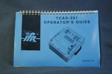 NEW IFR TCAS-201 Operator's Guide 1002-8501-100