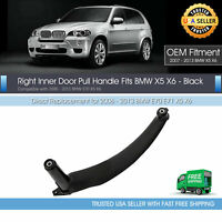 Right Inner Brown Door Panel Handle Pull Trim Cover Genuine For BMW E70 X5 Pass