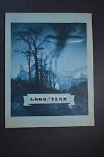 Original 1932 Goodyear tire sales brochure in French - vintage advertisement