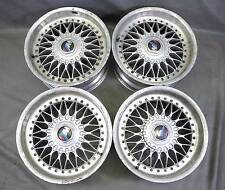 "BMW E39 5-Series Factory 17"" 2-Piece BBS Style 5 Basketweave Wheels Set of 4 OEM"
