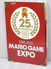 MARIO GAME EXPO 25th Anniv. Guide Book Fanbook Ltd