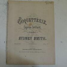 antique salon piano COQUETTERIE sydney smith