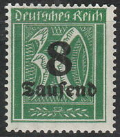 Stamp Germany Reich Mi 278 Sc 242 1923 Inflation Number Rectangle OP MH