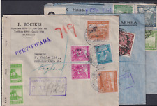 Chile Khala Correspondence 3 Interesting Censor Covers (N39)