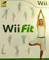 Wii Fit 2008 (Nintendo Wii) Complete with Manual Very Good Condition