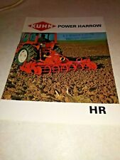 kuhn  power harrow hr 120 hr 180 hr 240 hr 300 sale brochure 5 page