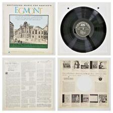 """Beethoven Music for Goethe's Egmont Op. 84 Lp Vinyl Record 12"""" Tested Vg+ Utah"""