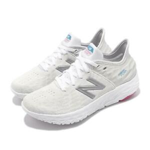 New Balance Fresh Foam BEACON White Silver Womens Running Shoes WBECNLP2B