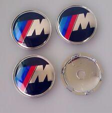 4 X 60mm 4x 60 mm Wheel Center Caps Emblem For bmw logo M