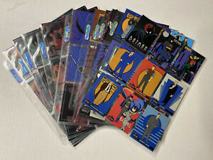 1993 TOPPS BATMAN THE ANIMATED SERIES COMPLETE 100-CARD SET HARLEY QUINN