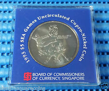 1993 Singapore Mint's 17th SEA Games Commemorative $5 Cupro-Nickel Coin