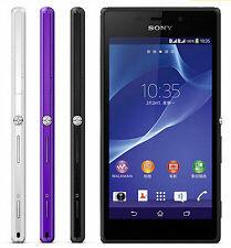 "New White Original Sony Xperia M2 D2303 8GB (Unlocked) Smartphone 4.8"" 8MP GSM"