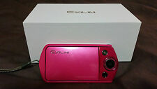USED CASIO EXILIM EX-TR15 TR350 HIGH SPEED DIGITAL CAMERA VIVID PINK