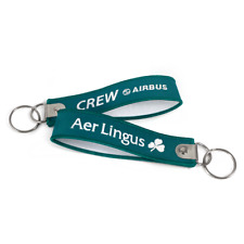 Aer Lingus Crew-Embroidered Key Strap