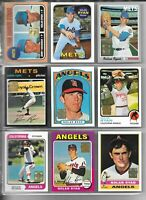 1999 Topps NOLAN RYAN Complete 27 Card Reprint Set--Qty