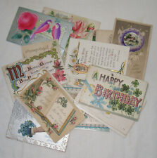104 1907-25 Birthday Postcards Clapsaddle Arts & Crafts J.E. Pitts Other Artist