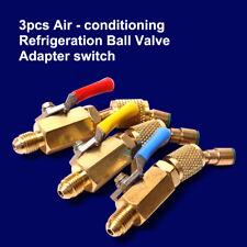 Air Conditioning A/C Manifold Gauge Tool Set Refrigeration f R-134A R12 R22 R502