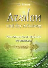 AVALON UND DER ARTUSWEG - 2 Audio CD mit Ava Minatti - NEU OVP