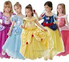 Child's Girls Premium Super Deluxe Disney Princess Fancy Dress Costume Outfit