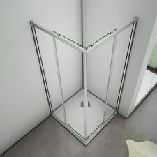 760x760mm Corner Entry Sliding Door Walkin Shower Enclosure Glass Screen Cubicle