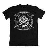 T Shirt Tiger Mens Kenzo Men break the rules Black Paris New Print s-3xl