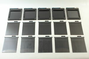 [Exc+5] TOYO FIELD 4x5 Sheet Film Holder Set of 5 From JAPAN