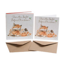 Wrendale Designs Twas The Night Before Christmas Fox Christmas Cards Hannah Dale