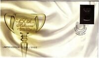 2010 FDC Australia. Melbourne Cup 150 years. Limited Edition Silver Stamp #1846