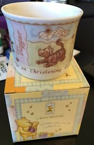 Royal Doulton Classic Winnie The Pooh Collection Mug Christening Baby