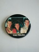 Vintage The Police Rock Band Pin Back Button