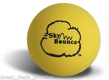Genuine Sky Bounce Hand Ball Racket Ball Racquetball (Lot Of 6 Yellow) Usa
