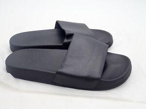 Men's Slide Slipper water beach sandals Black size 11-11.5 US/size 44-45 EU