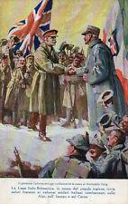 Alpini - Lega Italo-Britannica - Viaggiata 1914 - AP070