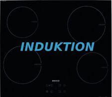 Beko HII64 Induktion Kochfeld 60cm Autark Touch Control Glaskeramik NEU