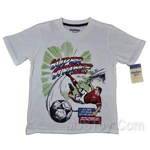 NWT Oshkosh B'Gosh Soccer Super Striker Goal T-Shirt 5T