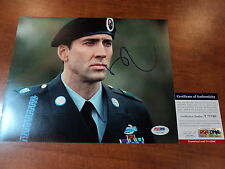 NICOLAS CAGE  -  It Could Happen to You -  Signed 8x10 Color Photo - PSA DNA COA