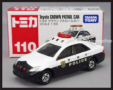 TOMICA #110 TOYOTA CROWN PATROL CAR 1/69 POLICE TOMY 2012 MARCH NEW MODEL
