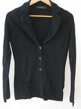 SIMONA BARBIERI Small Black Knitted Jacket/Cardigan Lovely, stylish and warm